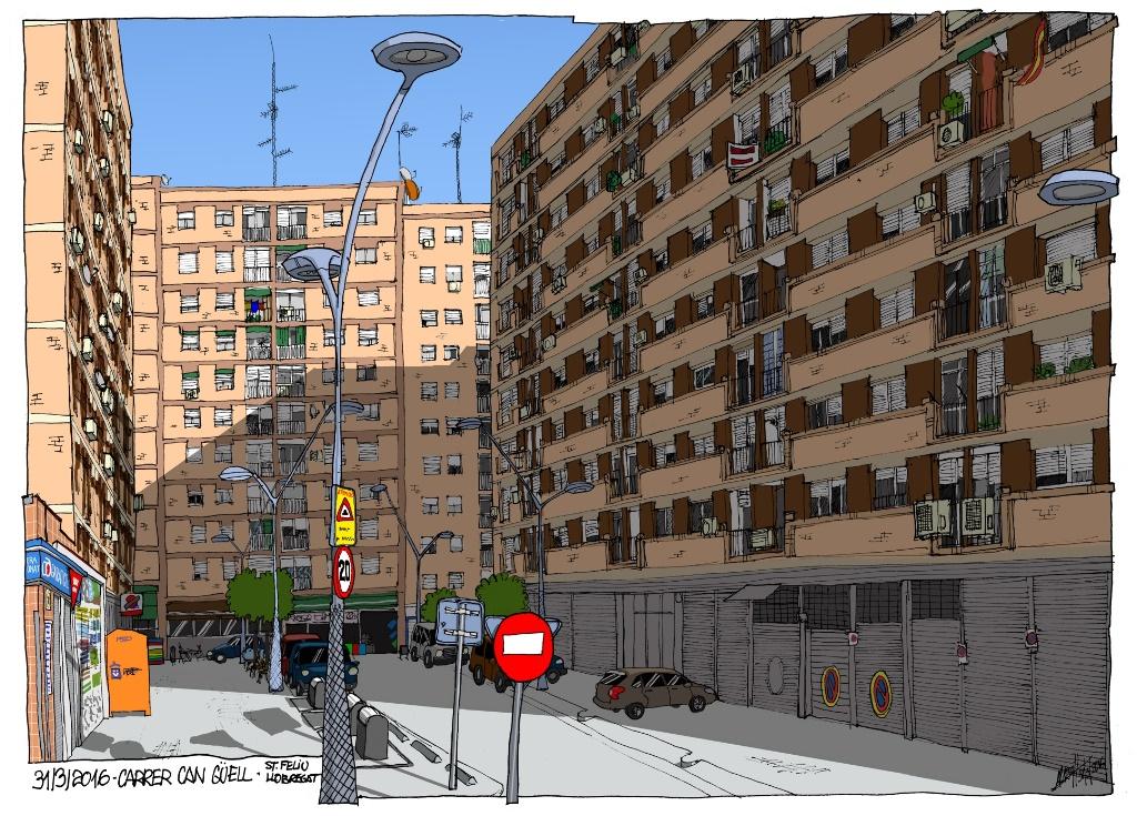 Carrer Can Güell, 18/04/2016