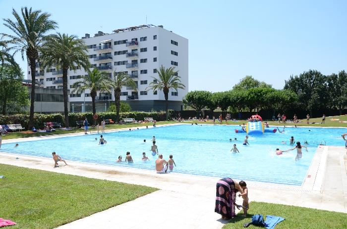 Portes obertes piscina municipal de l 39 escorxador fet a for Piscina municipal de salt